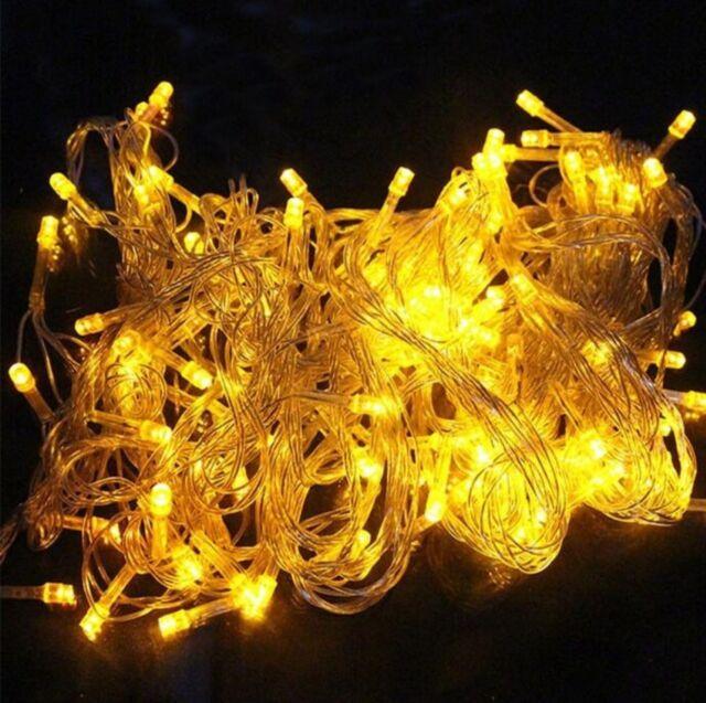 Led String Light Outdoor Lighting Lamp Waterproof Christmas Wedding