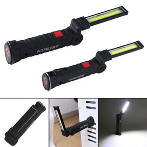 Arbeit Licht Lampe Flexibel Wiederaufladbar USB Taschenlampe Inspektion