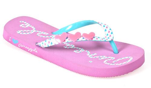 Girls Womens Flip Flops Sandals Summer Beach Shoes Designer Fashion Pink Black