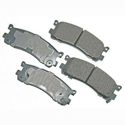 Disc Brake Pad Set-ProACT Ultra Premium Ceramic Pads Rear Akebono ACT1498