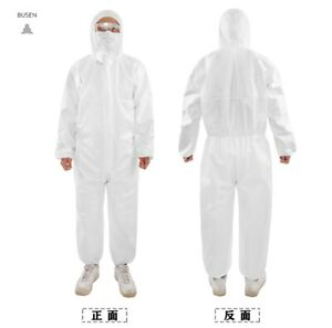 CE certified Overall Hooded Isolation Gown Protective Suit Work Clothing Bundle