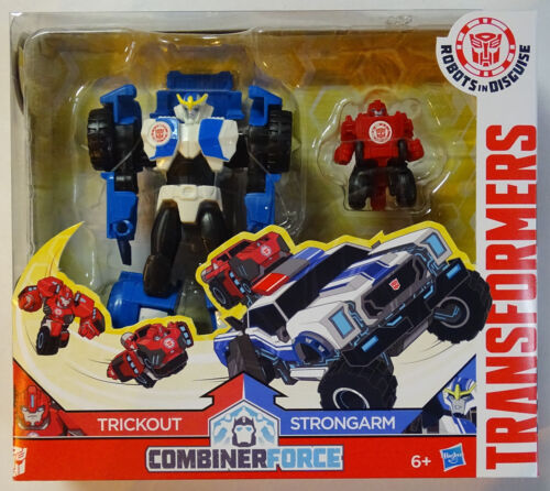 Hasbro ® c0655 Transformers RID combiner Force trickout /& Strongarm