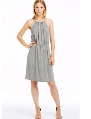 NWT Armani Exchange A X Sleeveless Tank Jersey dress Gray S 4 5