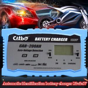 12-24V-10A-200Ah-Cargador-de-bateria-inteligente-para-moto-coche-rapido-completo