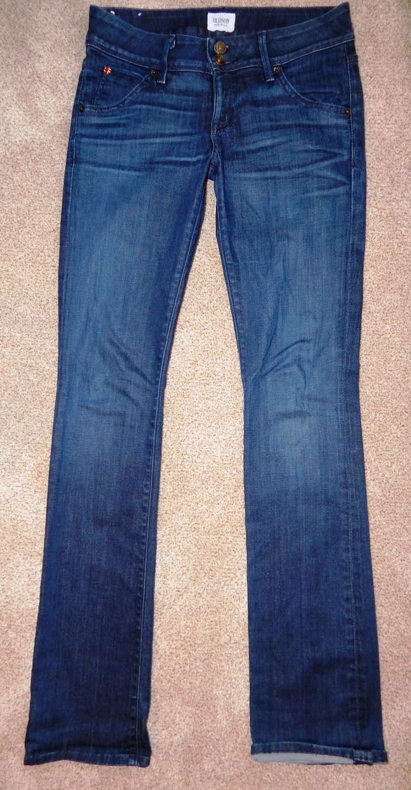 Hudson jeans beth baby boot cut denim jeans dark wash size 26 2 FREE SHIPPING