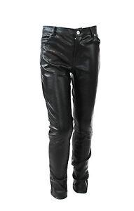 NWT-Kate-Mack-Girls-039-Black-Faux-Leather-Pant-Size-4-5-6-6X