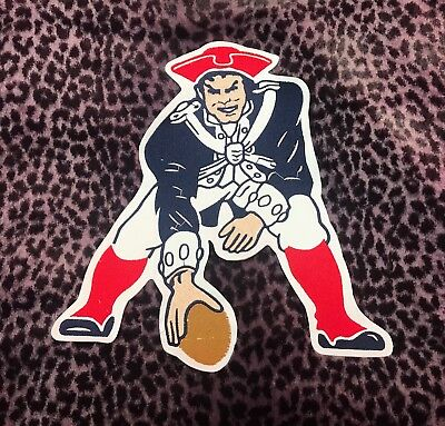 "New England Patriots Old Big Quality Embroidered Patch (10""x10.5"")"