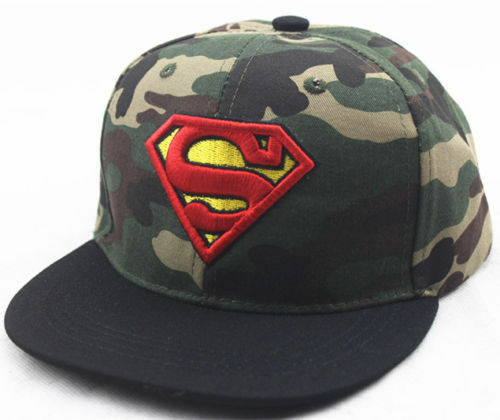 superman Boy Girl school Baseball Cap Kids Snapback Hats Children Sports Sun Hat