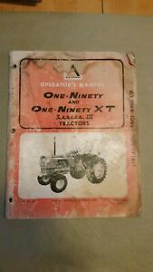 Allis-Chalmers-190-tractor-Operator-039-s-Manual