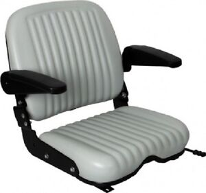 UNIVERSAL-HEAVY-DUTY-SEAT-W-ARM-RESTS-FOR-FORKLIFTS-TELEHANDLERS-TRACTORS-KW