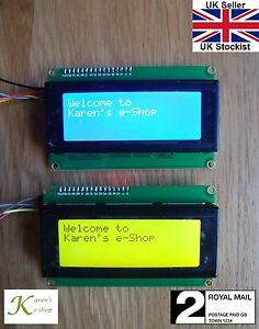 Details about IIC/I2C/TWI 2004 20x4 LCD Display Module for Arduino