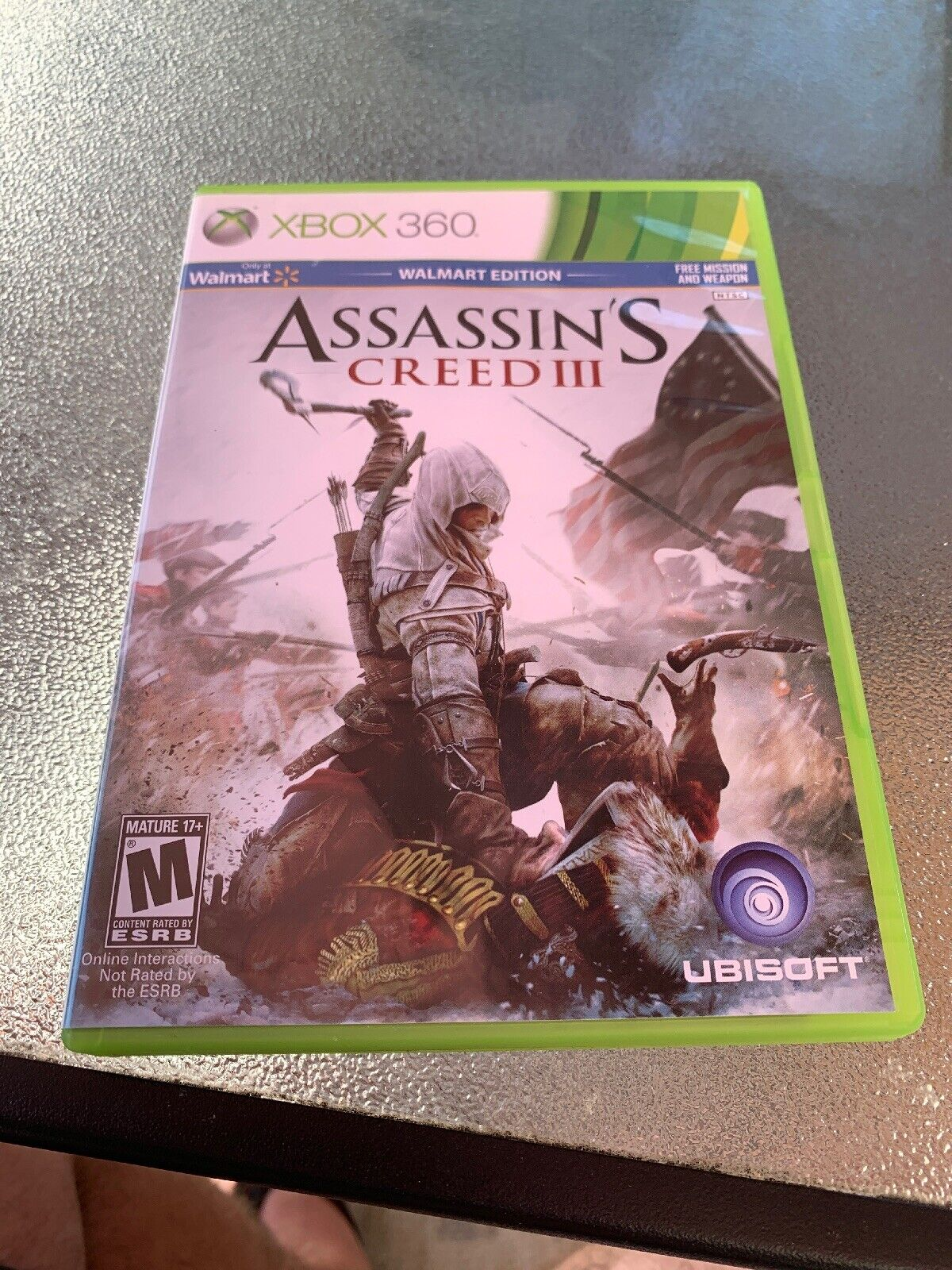 Assassin's Creed III Walmart Edition Rr211752 Xbox 360 MINT