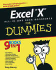Excel 2003 All-in-one Desk Reference for Dummies by Greg Harvey (Paperback, 2003)
