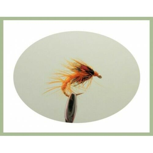 6 x Orange Snatcher  Choice of Sizes Snatchers Trout Flies Fishing Flies