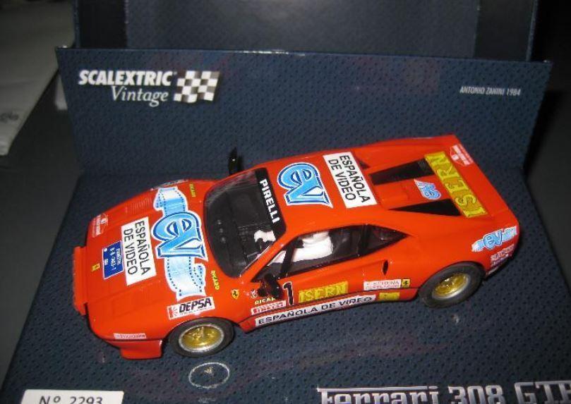 Scalextric - FERRARI 308 GTB ANTONIO ZANINI 1984 A10215S300