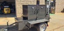 Ribmaster 3 Racks Mobile Bbq Smoker Trailer Lockable Front Storage Food Truck