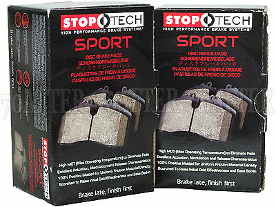 StopTech 309.11851 StopTech Sport Brake Pads Fits 06-13 Corvette