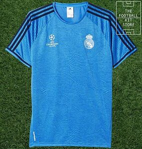 71c42f23b Image is loading Real-Madrid-Training-Shirt-Official-Adidas-Football- Training-