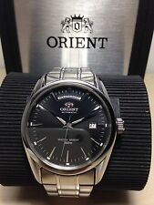 Orient Automatico Day_date Mm 38 W.r.5 Atm Black Face Introvabile Raro Watch