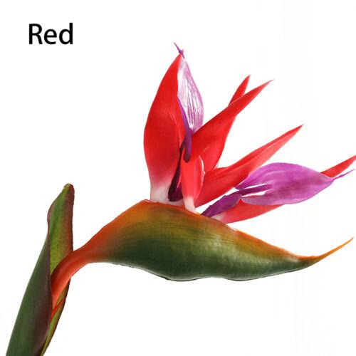 Bird Of Paradise Artificial Flower Single Strelitzia Fake Flower Home Decoration