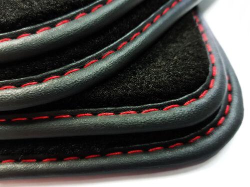 NUOVO-Tappetini per AUDI a3 8v s3 2012 />/> VELLUTO ORIGINALE qualità premium cuciture ornamentali