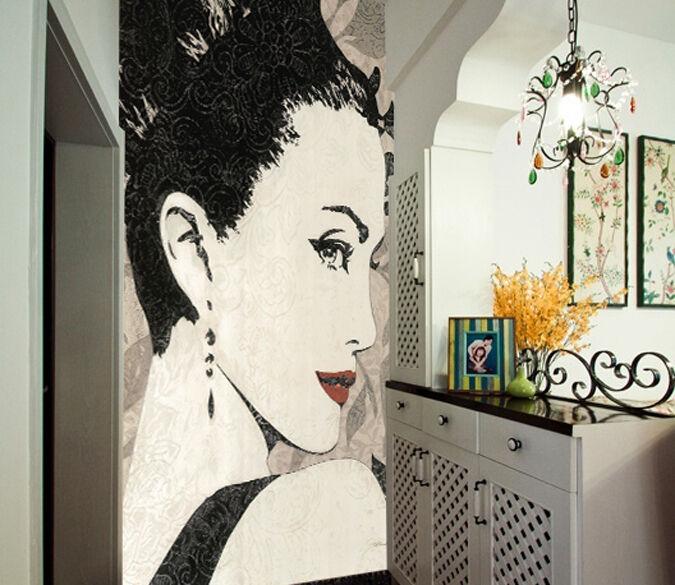 3D Shot from the side 1 WallPaper Murals Wall Print Decal Wall Deco AJ WALLPAPER