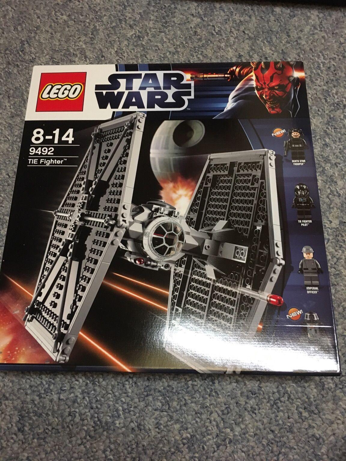 Lego Star Wars TIE Fighter 9492 nouveau dans neuf dans sa boîte