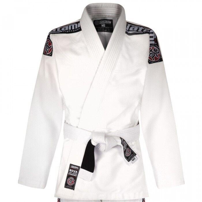 Tatami Fightwear Bambini Nova Bjj Gi Gi Gi Bianco Uniforme Bambini Ju Jitsu Ideale Jiu 2d2164