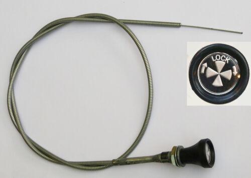 Mg Midget 1500 de vuelta /& Lock MG parte CHA446 bloqueo de Cable del estrangulador