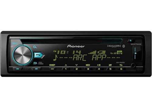 2018 Pioneer 1-DIN Bluetooth AM FM USB AUX Car Stereo w// Built-in Amp