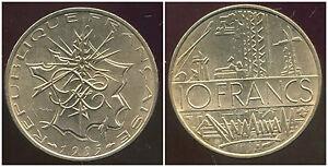 10 Francs Mathieu 1985 Tranche A ( Sup ) ( Bis ) Dxaqfwfm-07215703-331222543