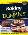 Baking For Dummies by Emily Nolan (Paperback, 2002)