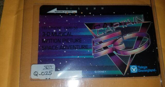 Disney Tokyo Michael Jackson Captain EO Characters MINT Phone Card htf free ship