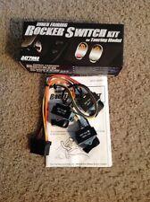Black Backlit Cruise Acc Spot Switch Kit 2004-2013 Harley Electra Glide 70278-04