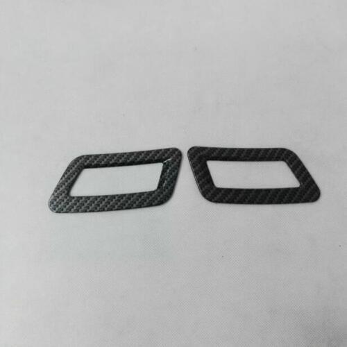 Carbon fiber look Interior Dashboard Air Vent Trim For NISSAN ROGUE 2017 2018