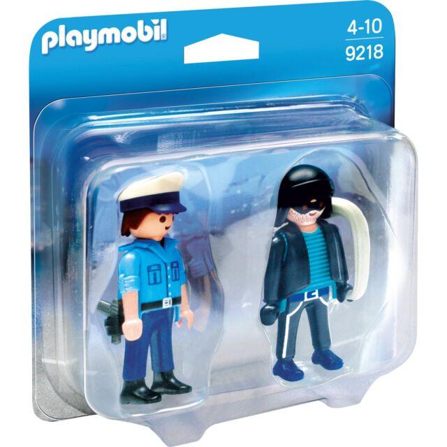 PLAYMOBIL Duo Pack Polizist und Langfinger, Konstruktionsspielzeug