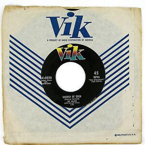JOE-VALINO-Garden-Of-Eden-Caravan-7IN-1956-POP-VOCAL-NM