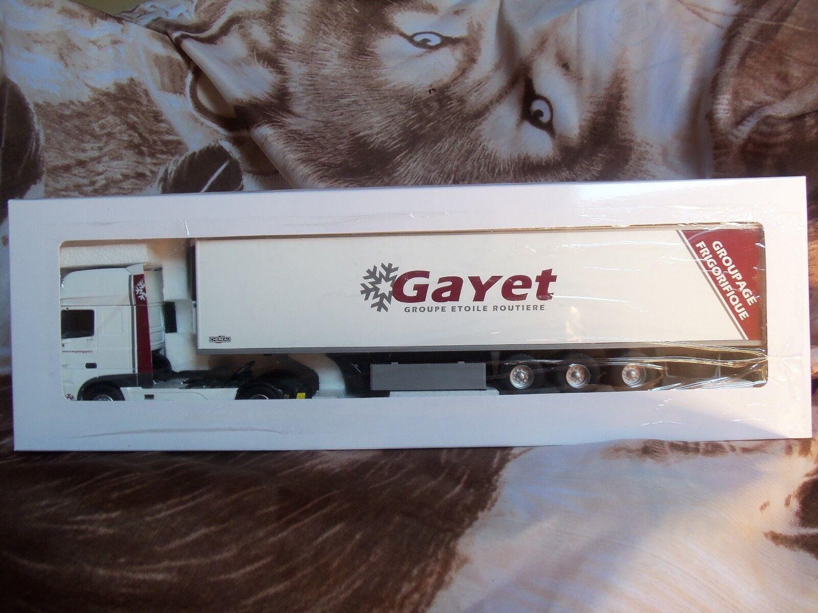 DAF XF MID FRIDGE CHEREAU TRANSPORTS GAYET 1 43 eligor 115654