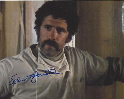 Elliott Gould Signed Authentic 'mash' Trapper John 8x10 Photo W/coa Actor Products Hot Sale Photographs