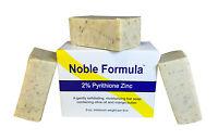 Noble Formula 2% Pyrithione Zinc Bar Soap W/ Mango Butter - Vegan (3 Pack)