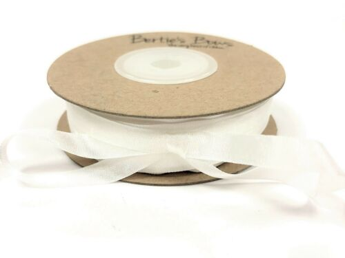 25mm /& 32mm widths Bertie/'s Bows 100/% Natural Silk-7mm sold by the metre 13mm