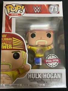 Details about Hulk Hogan WWE #71 Funko pop! vinyl RARE EXCLUSIVE