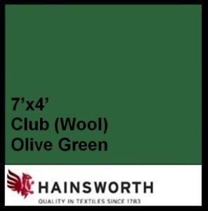 7ft-ENGLISH-GREEN-Hainsworth-Elite-Pro-Pool-Table-Cloth