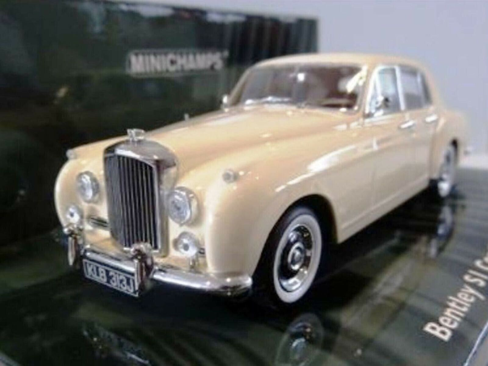 WOW EXTREMELY RARE Bentley Continental S1 FS 4.9L 1956 Cream 1 43 Minichamps GT