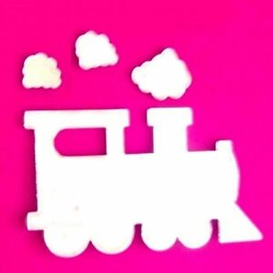 Steam Train And Smoke Mirrors 3mm Acrylic Several Sizes Available