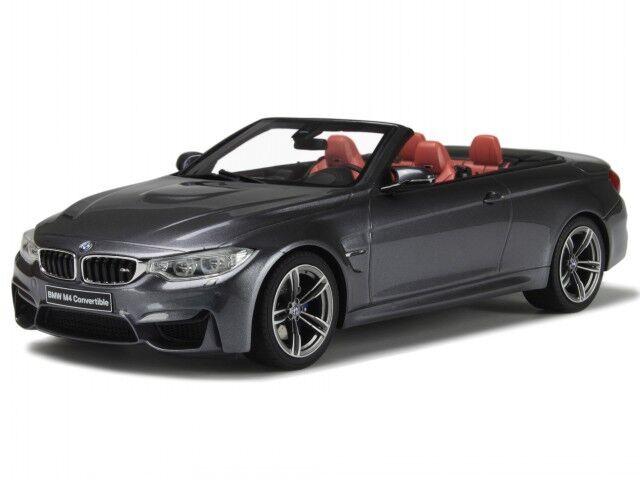 BMW F83 M4 Congreenible grey resin modelcar GT081 GT-Spirit 1 18