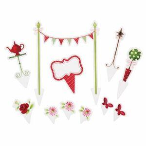 Kitchen-Craft-Sweetly-DoesTeeparty-Tortendekoration-Kuchendeko-Dekoration