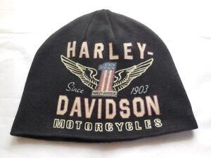 Harley-Davidson-Winged-1-No-1-Muetze-Strickmuetze-Cap-Schwarz-99488-17VM