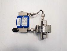 Krohne Dk32re Variable Area Flowmeter With Differential Pressure Regulator