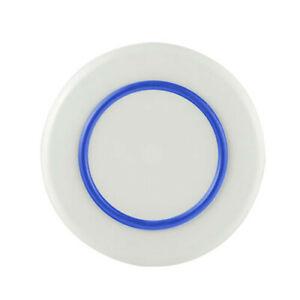 LARGE TechBrands White Non-Slip Sorona Dinner Plate